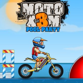 Moto XM Pool Party Racing Game