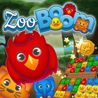 Zoo Boom Match-3 Game
